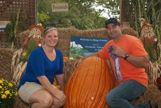John MacKinnon 197 lb  Field Pumpkin (with Kristen Ross)